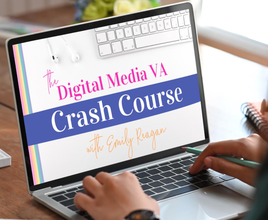 Digital Media VA Crash Course Graphic