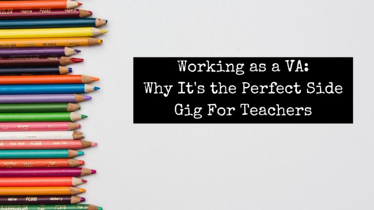 Working as VA Side Gig for Teachers for Emily Reagan PR
