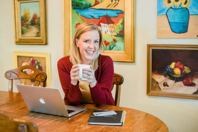 Working from home by Emily Reagan PR