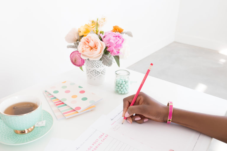 Teacher Working Online From Home as a VA Freelance by Emily Reagan PR