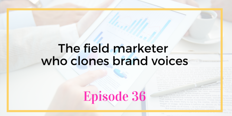 Episode 36 Brand Voices and Copywriting with Justin Blackman