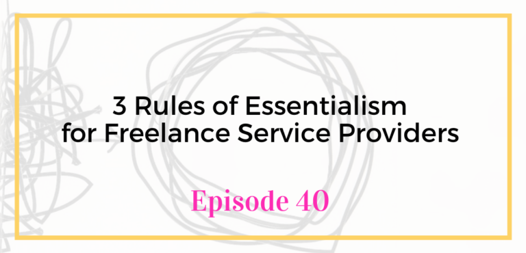 Digital Marketing Virtual Assistant Training Episode 40 for Freelance Service Providers Greg McKeown's Book