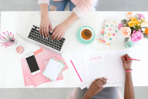 Hiring a Virtual Assistant for your business team - benefits of a VA by Emily Reagan PR