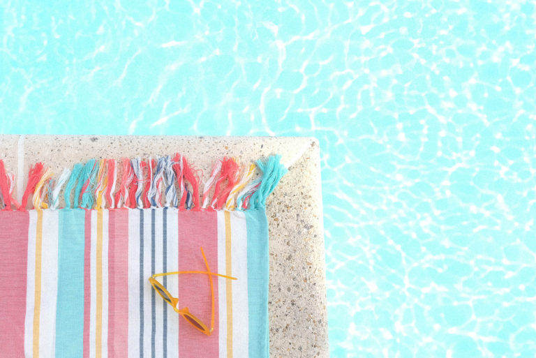 Pool - Preventing burnout as a VA in a WFH mom job by Emily Reagan PR