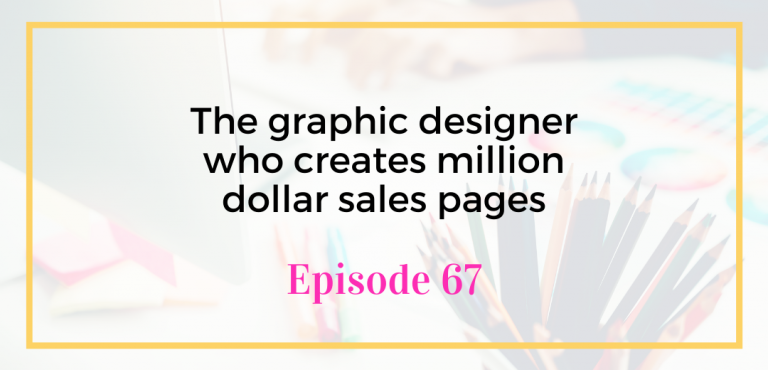 The graphic designer who creates million dollar sales pages