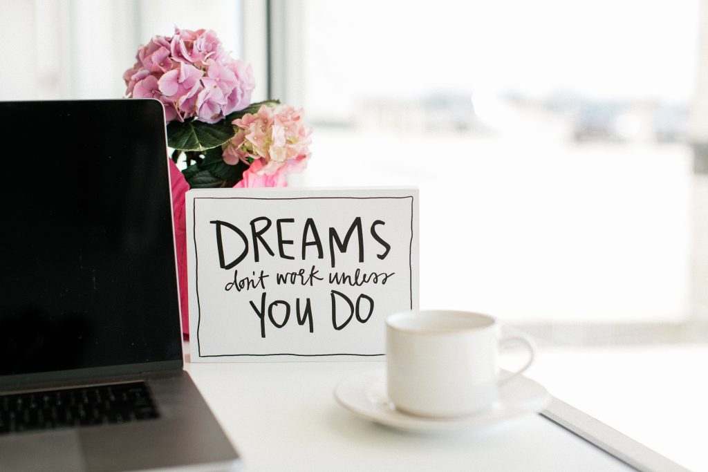 Dreams don't work unless you do - ideal freelance clients for virtual assistants by Emily Reagan PR