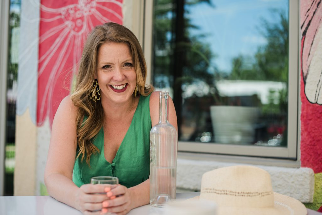 Outdoor Cafe - Working Online as a Unicorn Virtual Assistant With Emily Reagan PR