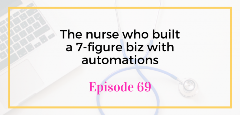 The nurse who built a 7-figure biz with automations