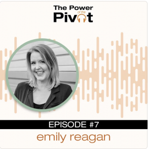 Cover of Power Pivot Podcast with Emily Reagan