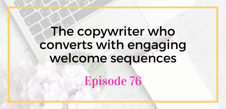 The copywriter who converts with engaging welcome sequences